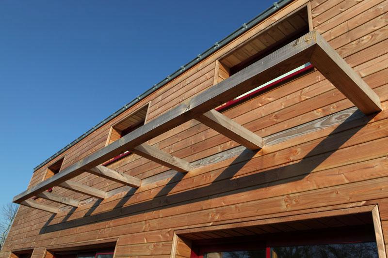 Constructeur CCMI maison écologique et bioclimatique en bois (RT2012)
